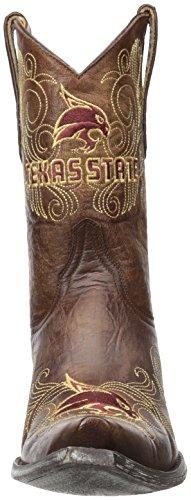 Ncaa Texas Staat Bobcats Vrouwen 10-inch Gameday Laarzen Messing