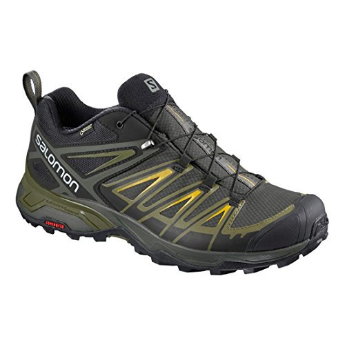 Salomon Men's X Ultra 3 GTX Hiking Shoes Castor Gray / Beluga / Green Sulphur from china outlet discounts great deals online cheap sale enjoy cCFF4aj