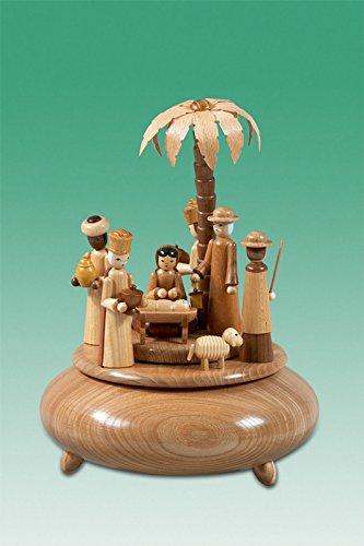見事な創造力 箱の誕生の主として未塗装のメロディー - 無声夜 -- を -- D - = 木製 木製 22 の cm の演劇の時計のオルゴールの鉱石山して下さい B01CVG9CNG, クメチョウ:897db5c2 --- arcego.dominiotemporario.com