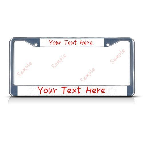 License Plate Covers & Frames My Other Ride Is A Flying Nimbus #2 Chrome Plastic License Plate Frame