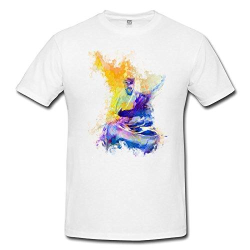 Kung Fu II Herren T-Shirt Sport Motiv aus Paul Sinus Aquarell