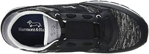 Harmont De nero Homme Noir Blaine amp; 623 Gymnastique Chaussures Scarpa ArAIq