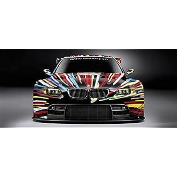 BMW ART CAR Le Mans Gt M3 M5 Sports CAR Large Poster 58x26 German Auto Race