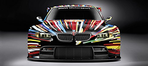 Bmw Art Car Le Mans Gt M3 M5 Sports Car Large Poster German Auto