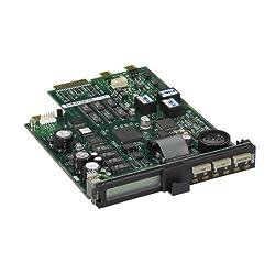 Black Box Analog sync/async dialup or leased line V.36 modem rackmount card