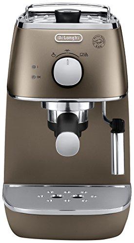 DeLonghi ECI 341.BK – Cafetera (Independiente, Máquina espresso, 1 L, Dosis de café, De café molido, 1100 W, Negro)