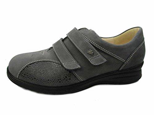 Finn Comfort 5053901621, Mocassins pour femme - Gris - gris,