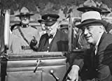 Photo Winston Churchill Franklin Roosevelt Quebec Conferences WWII Quebec City, Canada