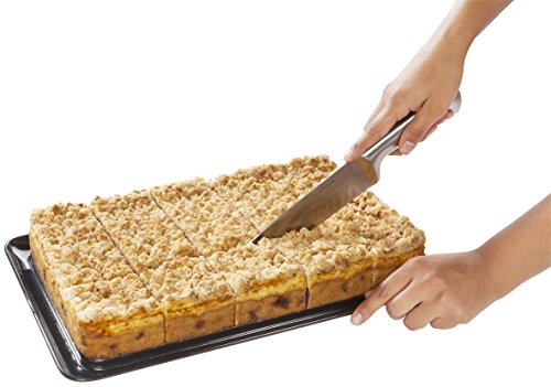 Zenker 6112 - Molde rectangular para tarta con base extraíble esmaltada y tapa para transportar: Amazon.es: Hogar