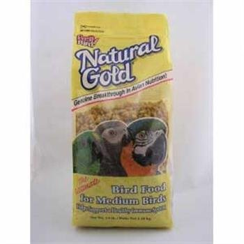 (Pretty Bird International Bpb74309 30-Pound Natural Gold Bird Food, Medium)