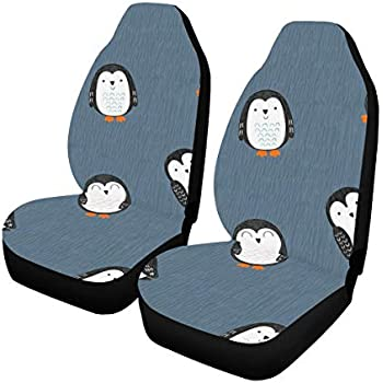Amazon Com Interestprint Cute Cartoon Penguins Car Seat