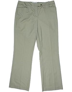 Calvin Klein Women's Modern Fit Dress Pants, Khaki, 8P