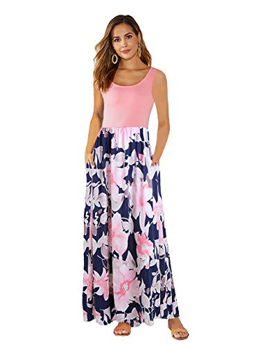 DUNEA Women's Maxi Dress Floral ...