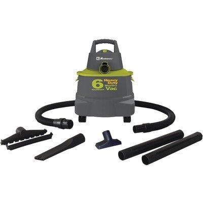 Koblenz 6-Gal. Wet/Dry Vacuum Green/Gray WD6