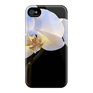 Case Cover Pearly Orchids/ Fashionable Case For Iphone 4/4s