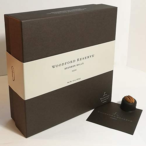 - Woodford Reserve Bourbon Ball Gift Box, 32 Candies per box, delicious and perfect for holiday gifts