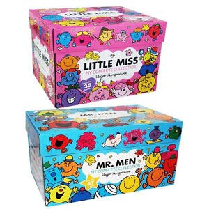 Mr Men & Little Miss 83 Books The Complete Collection Gift Box Set Roger Hargreaves
