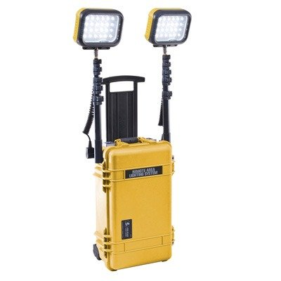 9460Y Pelican 9460 RALS LED Remote Area Lighting System Yellow - Remote Area Lighting System