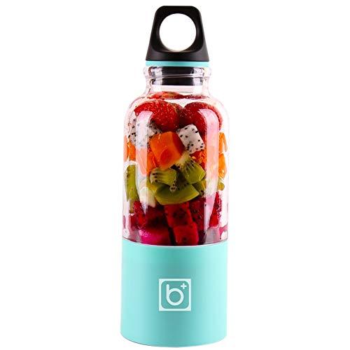 Gano Zen 500ml Portable Juicer Cup USB - Rechargeable Electric Automatic Bingo Vegetables Fruit Juice Tool - Maker Cup Blender - Mixer Bottle by Gano Zen (Image #7)