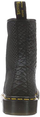 Dr. Martens 1460 Python Suede Unisex-Erwachsene Stiefel Schwarz (Black)