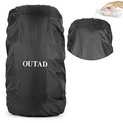 Extreme Powered Subwoofer - OUTAD Waterproof Backpack Rucksack Pack Rain Cover Bag Rainproof for Camping Hiking (Black, Small)
