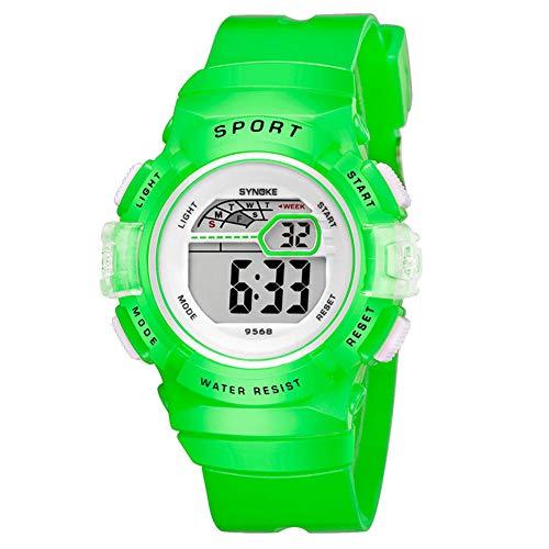 Multifunction Alarm Weekday Stopwatch Kids Sports Digital Luminous Wrist Watch by Gaweb (Image #8)