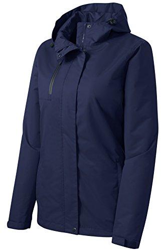 Navy Blue 3 Season Jacket - 4