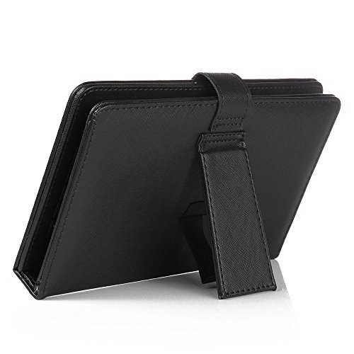 Click to buy Micro USB Keyboard Leather Case For 7