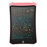 Newest LCD Writing Tablet, Electronic Digital Writing &Colorful Screen Doodle Board, Cimetech 8.5-Inch Handwriting Paper Drawing Tablet Gift for Kids and Adults at Home,School and Office (Pink)