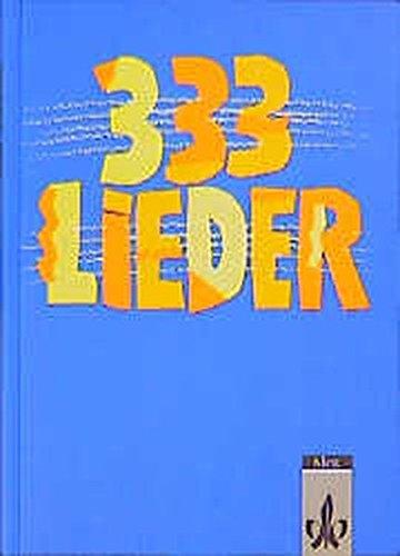 333 Lieder, Schülerbuch, Allgemeine Ausgabe
