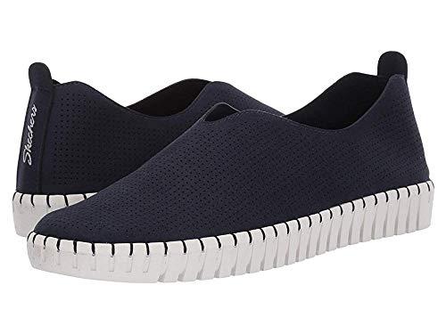 Skechers Women's SEPULVEDA BLVD-Simple Route Sneaker, NVY=Navy, 7 M -
