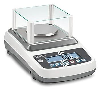 Balanza de precisión de alta calidad [Kern EWJ 600-2SM] con ajuste automático