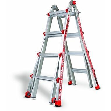 Little Giant 14013-001 Model 17 250 Lbs Capacity Alta-One Ladder, 15 Feet,