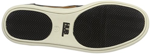 Hub Chuckonian N33 Scratched, Sneaker Basse Uomo Nero (Nero)
