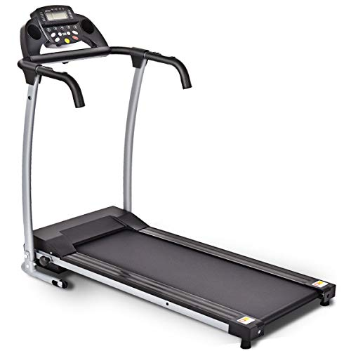 Alitop 800W Folding Treadmill Electric/Support Motorized Power Running Fitness Machine