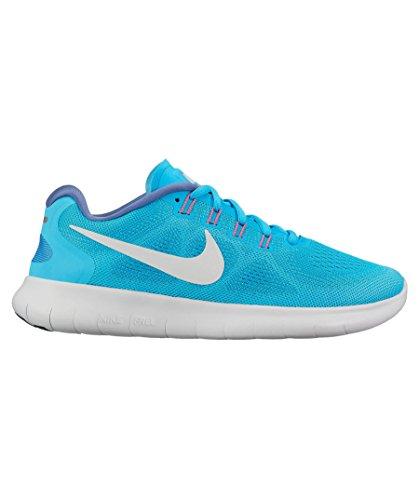NIKE Rn Free Women's Chlorine 2017 400 Shoe Running Blue qqzFU