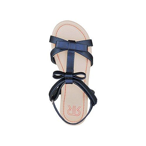 La Redoute Collections Mdchen Sandalen mit Schleife 2639 Gre 30 Blau