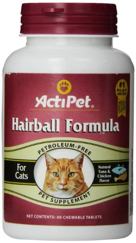 Hairball Formula, 60-Count (Pack of 2) (60 Chewable Treats)
