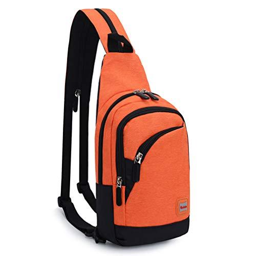 Dos Sling Crossbody Vélo Daypacks Sacs Orange Randonnée Wind Goal Packs Poitrine À Pour Épaule 5xzqwnYXPw