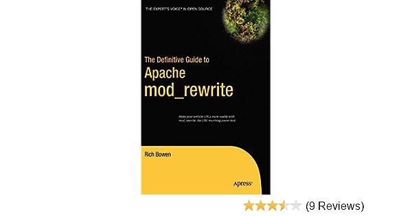 The Definitive Guide to Apache mod_rewrite (Definitive