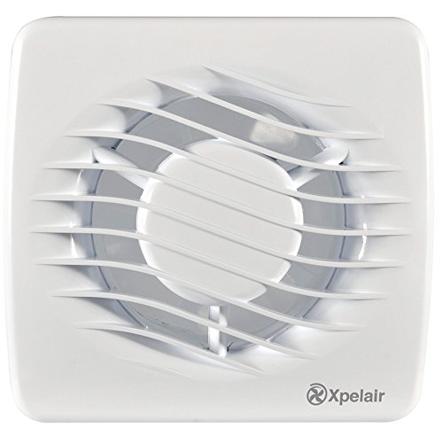 bathrooms Xpelair DX4T DX100T 100mm 4 Bathroom Extractor Fans with built in timer Providing the best extraction and ventilation for toilet en suite by Xpelair shower room