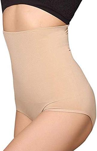 ANGOOL Contenitiva a Vita Alta Mutande Contenitive Pantaloncini Thong Shapewear Dimagrante Modellante Guaina Intimo da Donna