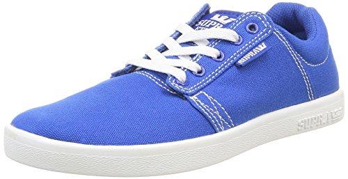Supra Westway, Unisex Adults' Low-Top Sneakers Blue (Royal/White)