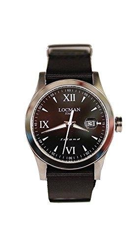 LOCMAN watch ISLAND 0614A01-00BKWHNK Men's