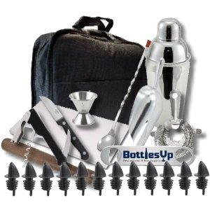 Bartending bar kit barware tool sets kitchen for Kitchen kit set