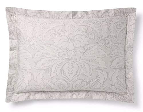 - Fleur Du Roi King Pillow Sham, GRAY AND SILVER
