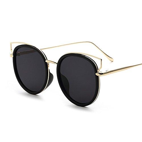 12ce6660b3 Durable Modelando Sunyan Gafas de sol mujer estrella de marea ojo cara  redonda coreano elegantes gafas
