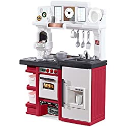 Step2 Coffee Time Kitchen Kids Playset, Red