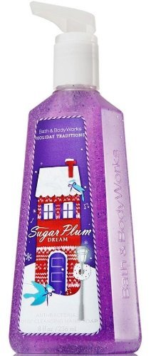 Bath and Body Works Antibacterial Deep Cleansing Hand Soap 8 ounce Sugar Plum - Ab Soap Hand