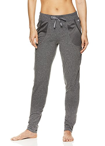 a0e71a94c6b1 Nicole Miller Active Women's Mesh Track Pants – Activewear Workout &  Running Joggers